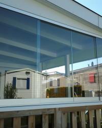 Metallbau Glasschiebeanlage