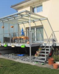 Metallbau, Balkone aus Stahl