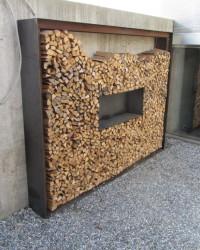 Metallbau Holzlagergestell