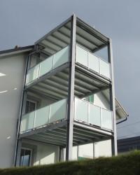 Metallbau, Balkonanbau