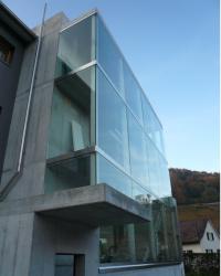 Metallbau Glasfassade